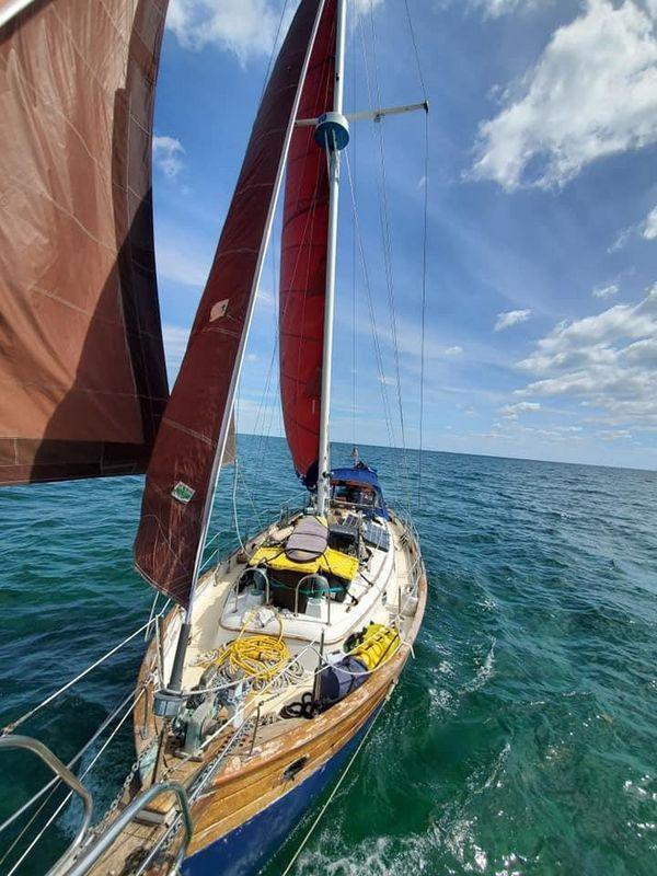 Used Hans Christian 41T Motorsailer Boat For Sale