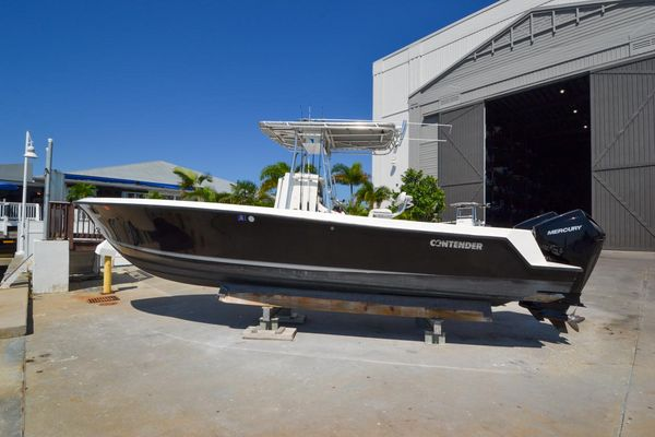 Used Contender 25 Open Saltwater Fishing Boat For Sale
