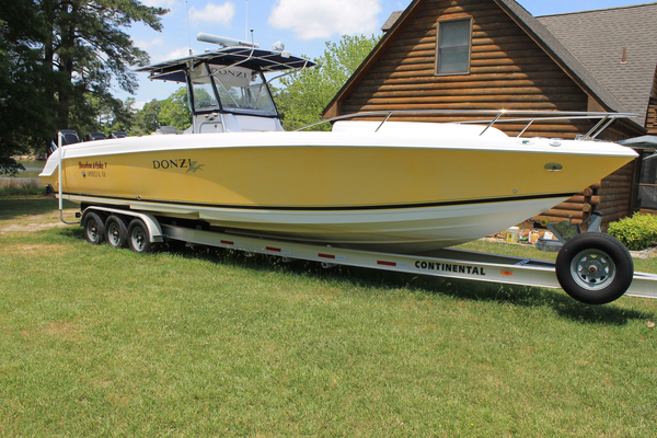 Used Donzi 38 ZFX Center Console Saltwater Fishing Boat For Sale