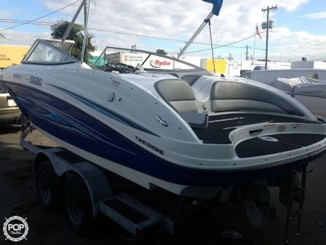 2008 used yamaha sx210 jet boat for sale 19 500 miami for Yamaha jet boat for sale florida