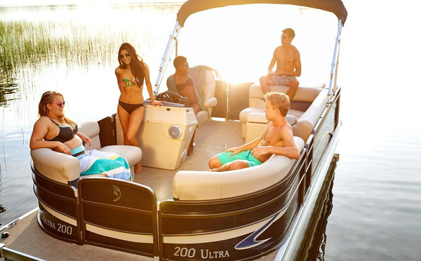 New Palm Beach 180 Ultra Pontoon Boat For Sale