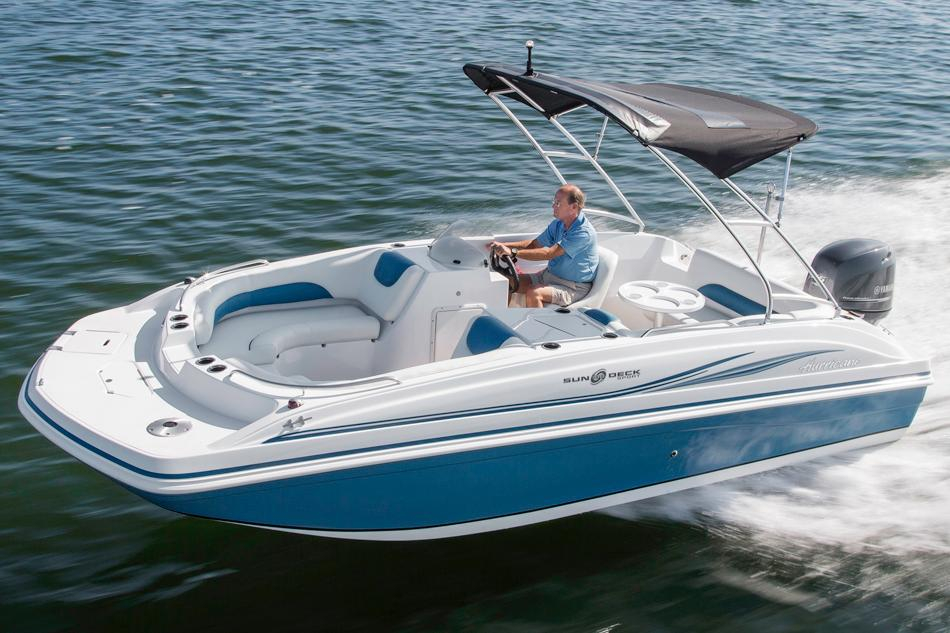 2016 new hurricane sundeck sport 188 ob deck boat for sale for Hurricane sundeck for sale