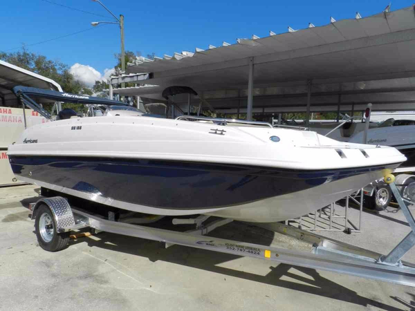 New Hurricane SunDeck Sport 188 OB Deck Boat For Sale