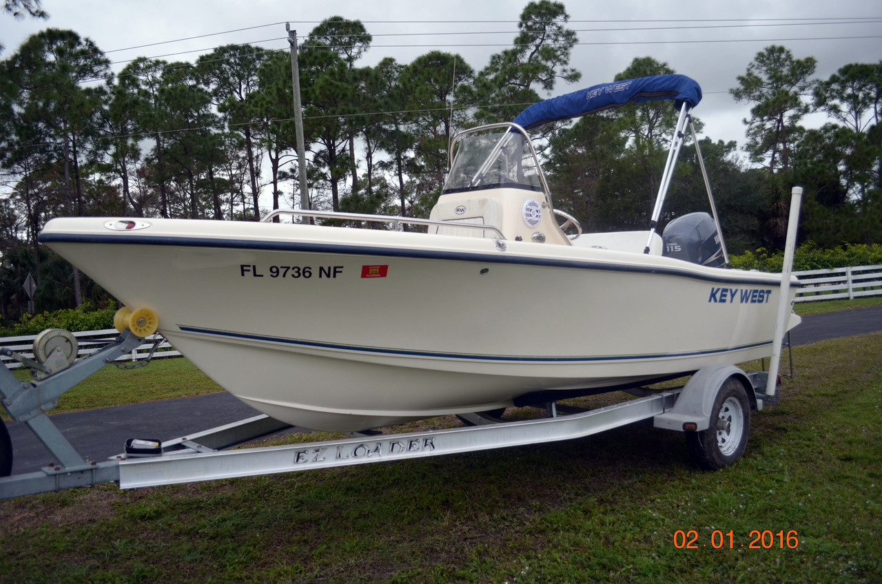 2006 used key west 176 center console saltwater fishing for Key west fishing boats