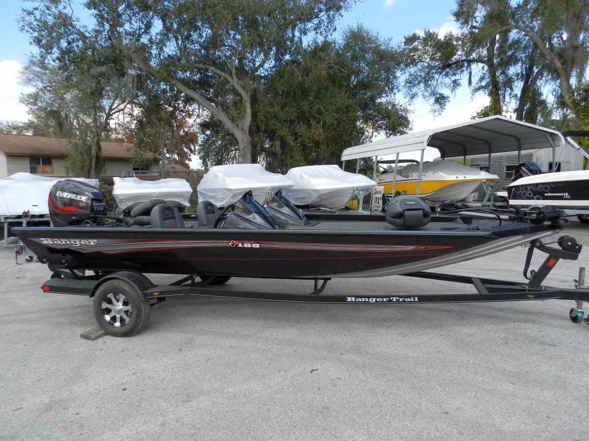 2016 new ranger rt 188 aluminum fishing boat for sale for Trolling motor for 18 foot boat
