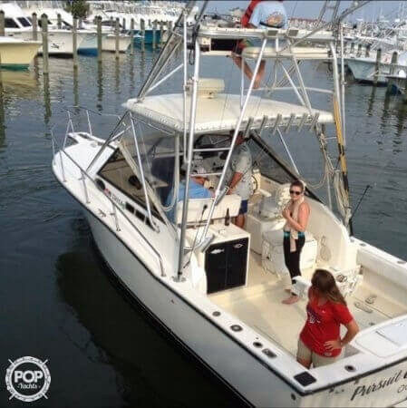 1999 used carolina classic 28 express sports fishing boat for Used fishing boats for sale in md