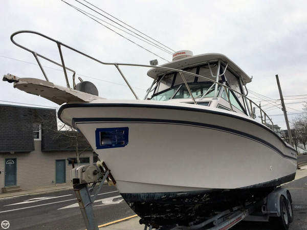 Used Grady-White Trophy Pro 25 Walkaround Fishing Boat For Sale