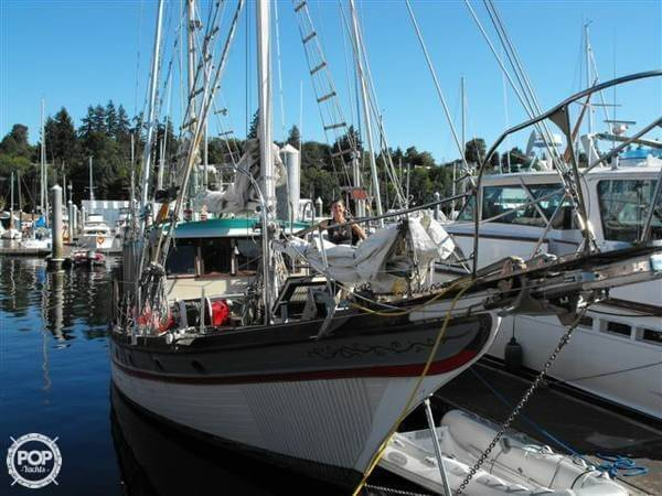 Used William Garden 42 Pilothouse Ketch Sailboat For Sale
