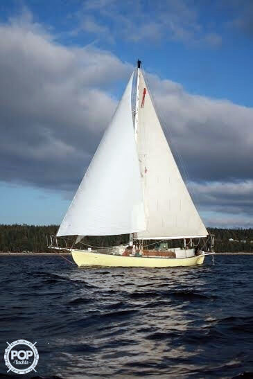 Used Atkins 38 Cutter Sailboat For Sale