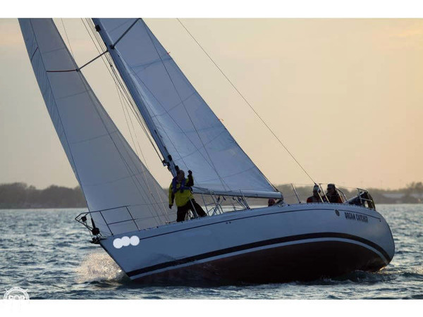 Used Beneteau Moorings 38-2 Sloop Sailboat For Sale