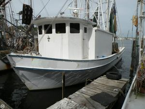 Used Custom Built 45 Commercial Boat For Sale