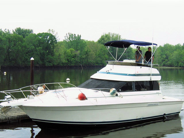 1994 used silverton 37 convertible motor yacht for sale for Silverton motor yachts for sale