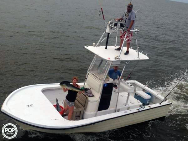 Used Penn Yan 23 Center Console Fishing Boat For Sale