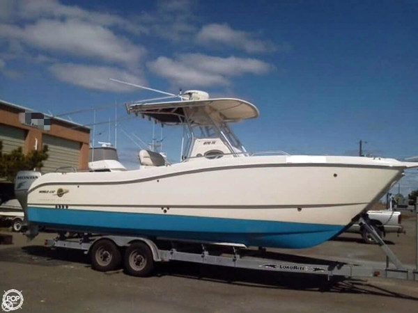 Used World Cat 270 TE Power Catamaran Boat For Sale