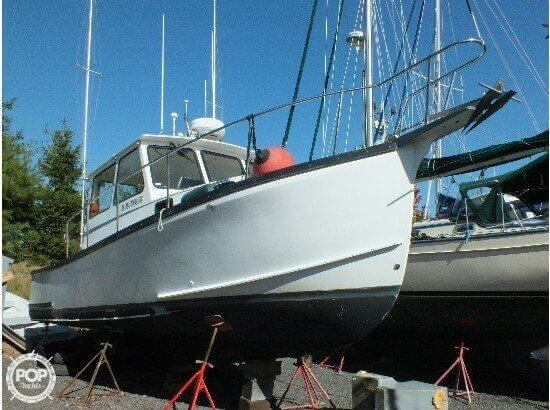 Used Willis Beal RP 31 Downeast Fishing Boat For Sale