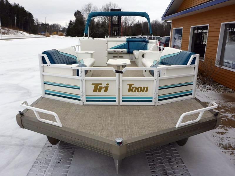 Used Tritoon Pontoon Boats For Sale Ebay Pontoon Boats For