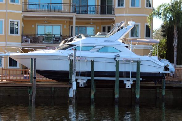 Used Sea Ray 440 Express Bridge Express Cruiser Boat For Sale
