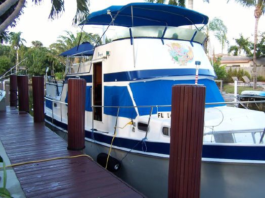 Used Cheoy Lee Lrc Cruiser Boat For Sale