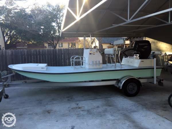 2015 used custom 18 flats boat flats fishing boat for sale for Fishing boats for sale in texas