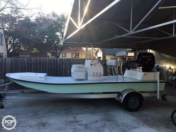 Used Custom 18 Flats Boat Flats Fishing Boat For Sale