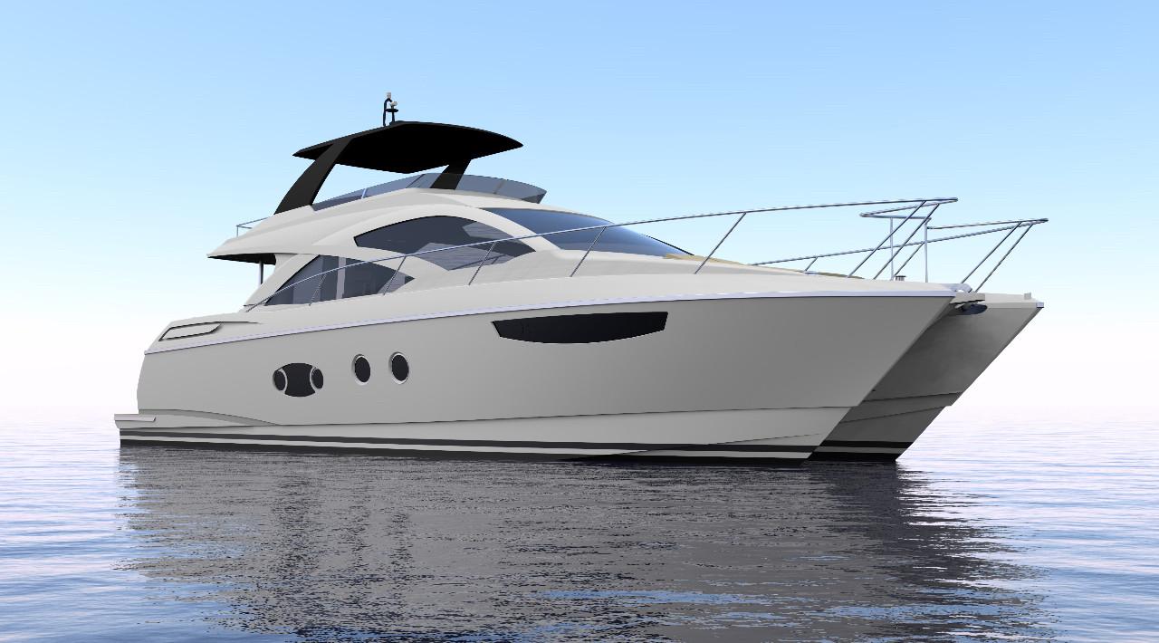 2016 new mares catamarans 64 motor yacht catamaran boat