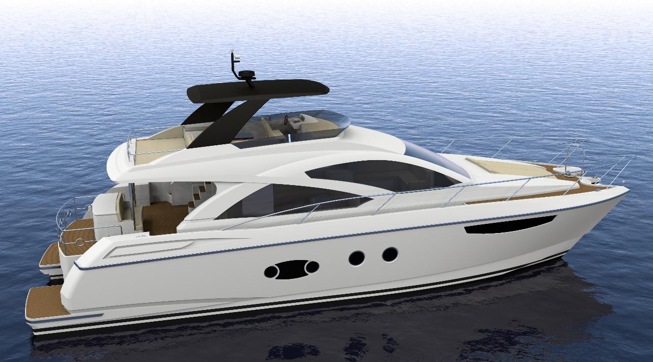 2016 new mares catamarans 64 motor yacht catamaran boat for Motor yachts for sale in florida