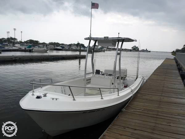 1999 Used Aquasport 20 Center Console Fishing Boat For