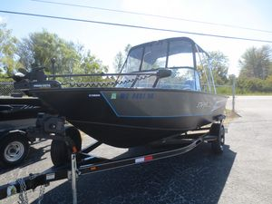 Used Starweld 18 PRO FUSION Freshwater Fishing Boat For Sale