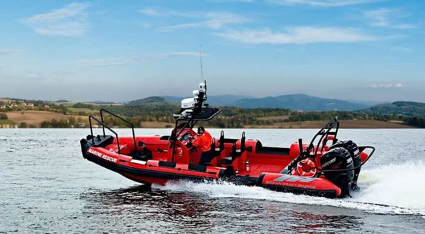 New Ocean Craft Marine Fire-Fighting 8.0 M Tender Boat For Sale