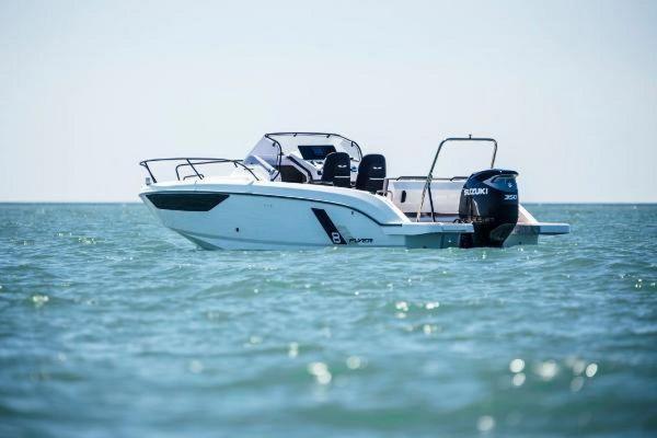 New Beneteau America Flyer 8 SunDeck Cruiser Boat For Sale