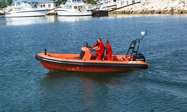 New Ocean Craft Marine Solas Rescue 6.5M Tender Boat For Sale