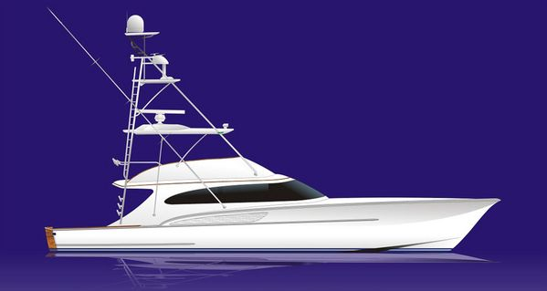 New Custom Carolina Sports Fishing Boat For Sale