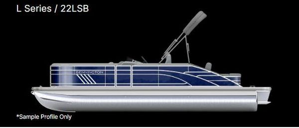 New Bennington 22 LSB Pontoon Boat For Sale