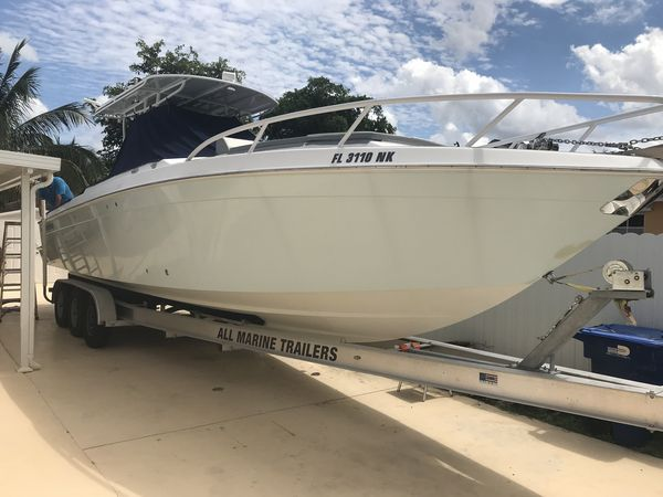 Used Contender Center Console Forward Cuddy Center Console Fishing Boat For Sale