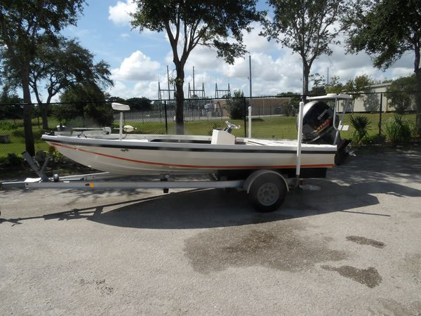 Used Dolphin Back Country 18 Flats Fishing Boat For Sale