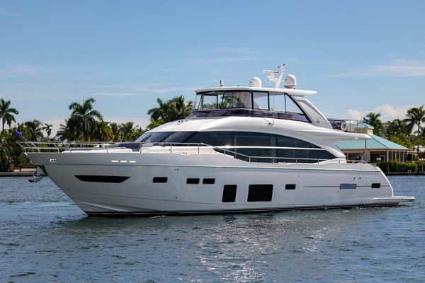 Used Princess Y75 Motor Yacht Flybridge Boat For Sale