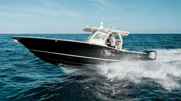 Used Scout 345 XSF Saltwater Fishing Boat For Sale