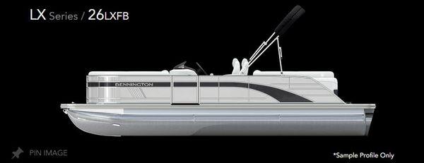 New Bennington 26 LXFB Pontoon Boat For Sale
