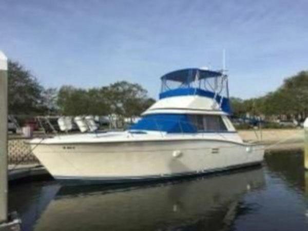 Used Trojan 36 Sportfish Sports Fishing Boat For Sale