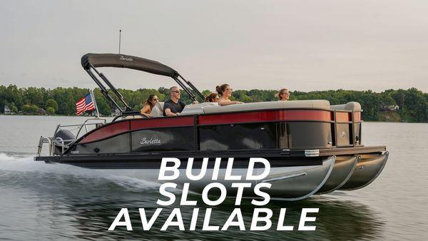 New Barletta Cabrio Build Slot Pontoon Boat For Sale