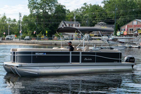 Used Barletta C24QC Pontoon Boat For Sale