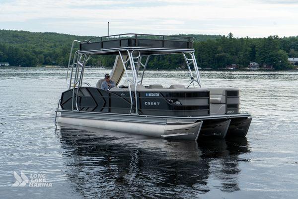 Used Crest Caribbean LX L Pontoon Boat For Sale