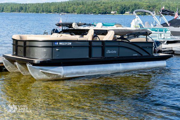 Used Barletta E22QC Pontoon Boat For Sale