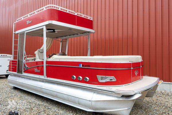 Used Tahoe VT2585 Pontoon Boat For Sale