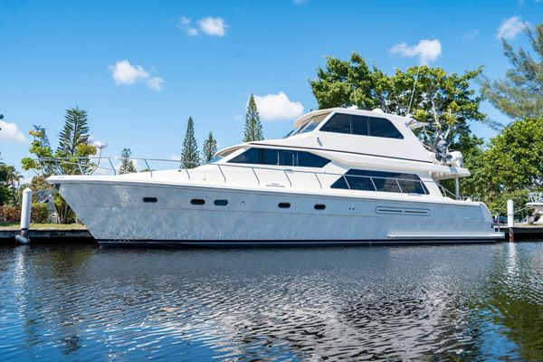 Used Hampton 630 Pilothouse Boat For Sale