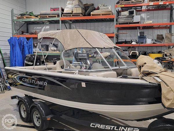 Used Crestliner 1950 Sportfish Aluminum Fishing Boat For Sale