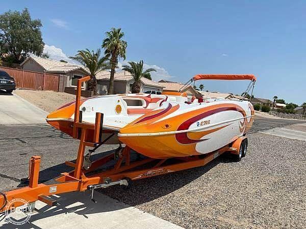 Used Domn8er 25 Deck Boat For Sale