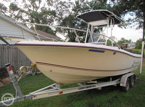 Used Cape Craft 2100 CC Center Console Fishing Boat For Sale