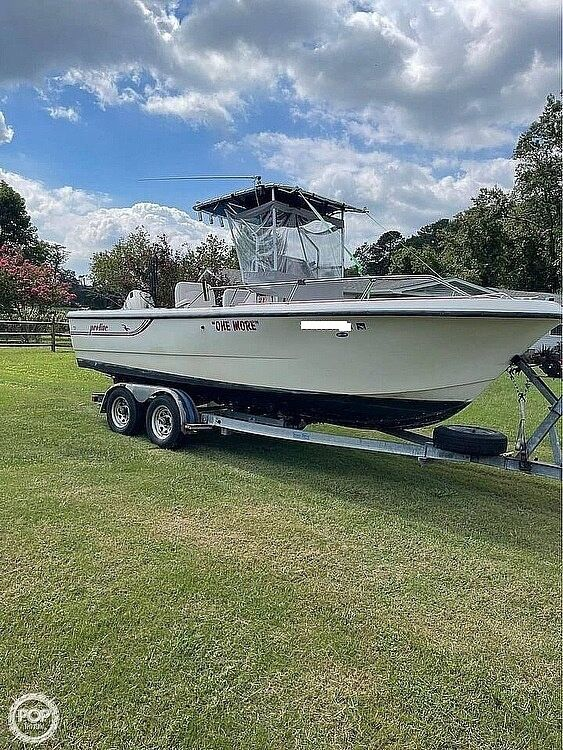 Used Pro-Line Pro 21 Walkaround Center Console Fishing Boat For Sale
