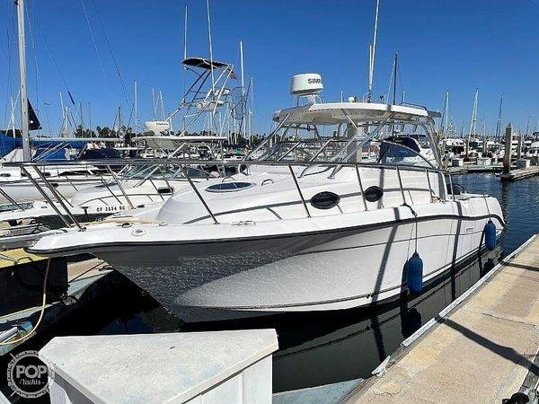 Used Seaswirl Striper 2901 Sedan Sport Fisherman Hardtop Walkaround Fishing Boat For Sale